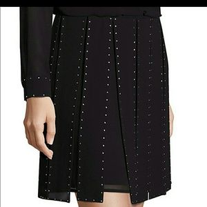 NWOT Michael Kors Studded Mini Skirt Size 4